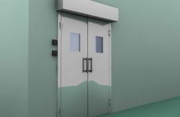 porta automatica pba2a