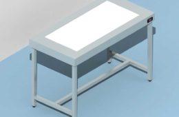 tavolo illuminato